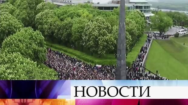 На Украине День Победы отмечают по всей стране