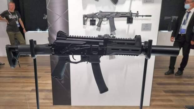 «Калашников» устроил видеопрезентацию новому пистолету-пулемету ППК-20