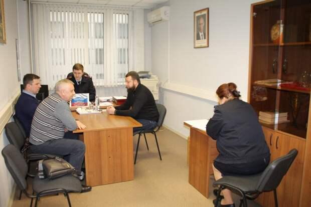 В УВД по САО состоялся Общероссийский день приема граждан
