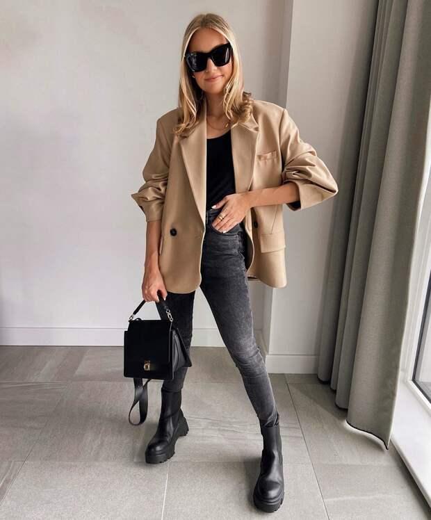 Модная повседневная одежда на осень 2021