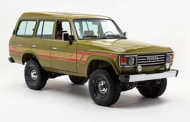 Абсолютно новый Toyota Land Cruiser 1986 года. Да, такое бывает!