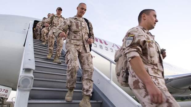 Военнослужащие сил НАТО прибыли на позиции на границе Сербии и Косово