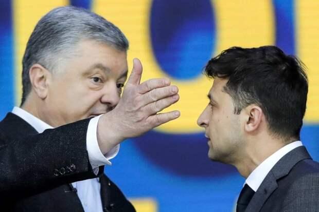Зеленский полностью повторяет риторику Порошенко о «нападении России»