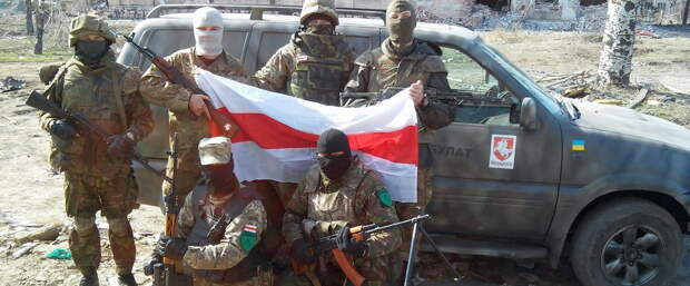 В Белоруссию переброшены сотни экстремистов из в/на