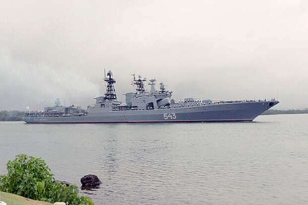 """В США рассказали о """"вооруженном до зубов"""" корабле ВМФ России"""