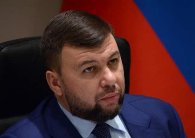 Пушилин приказал уничтожить укрепления ВСУ на линии разграничения