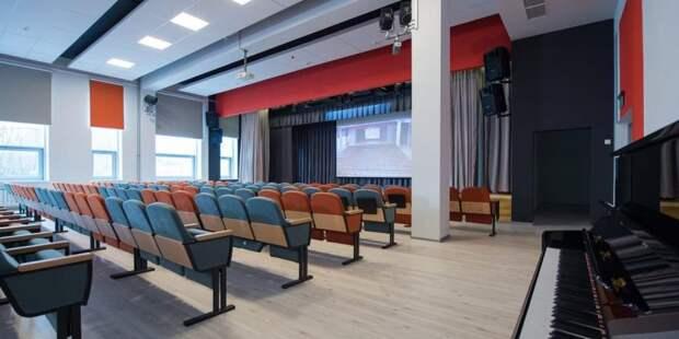 Собянин открыл новое здание клуба «Современник» в Строгине