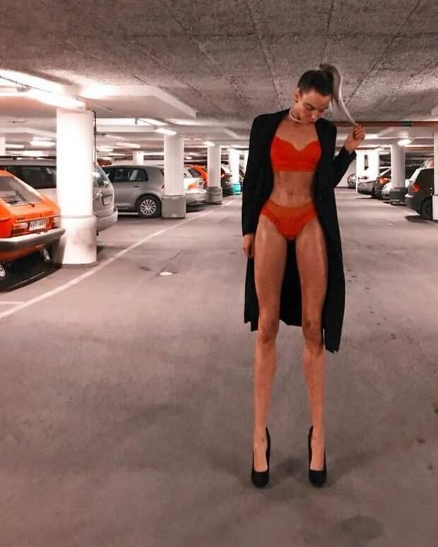 Ия Остергрен — ноги невероятной длины (19 фото)