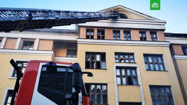 В Нижнем Новгороде ликвидировали открытое горение в общежитии