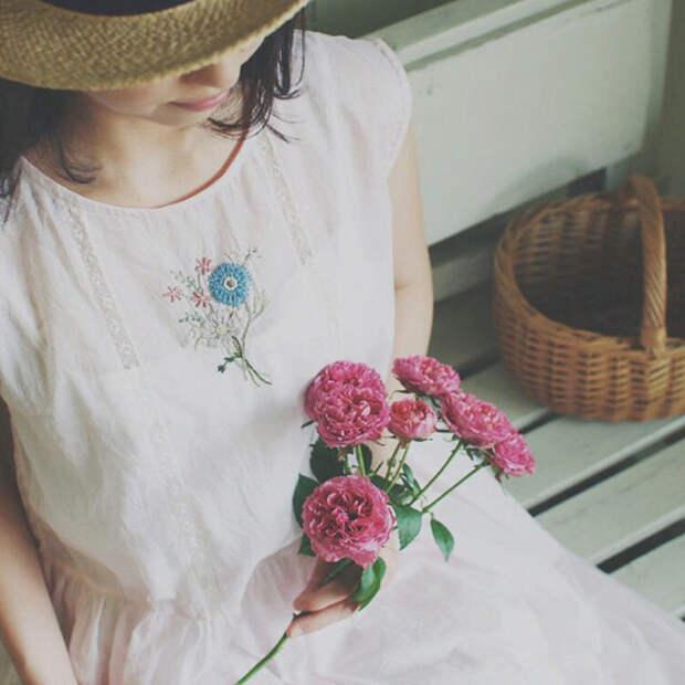 Фото - 26 Невыносимая нежность бытия: потрясающая вышивка Wakako Horai