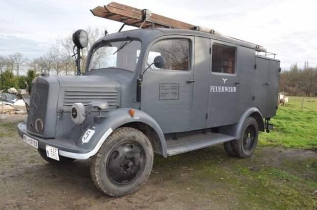 Каквыглядит грузовик «Мерседес», который былнаслужбе Люфтваффе вгоды войны