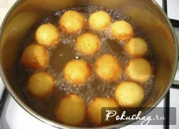Вкусные заварные пончики «по-французски» за 30 минут