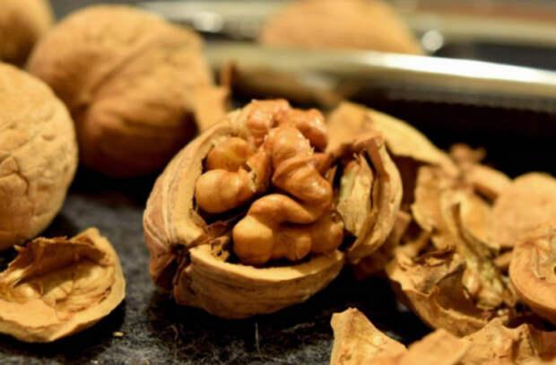 Риск развития рака и сердечных болезней снижают орехи