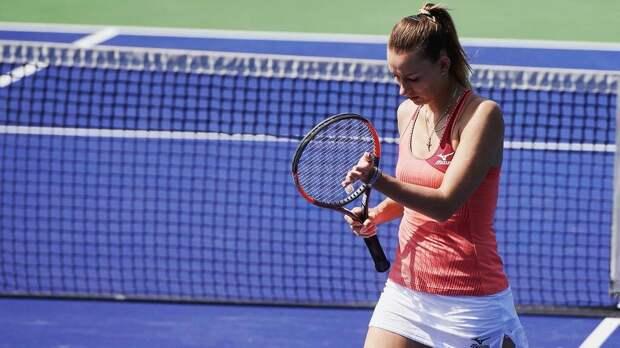 Русскую теннисистку поймали на договорняке в Париже. Ей светит пожизненное
