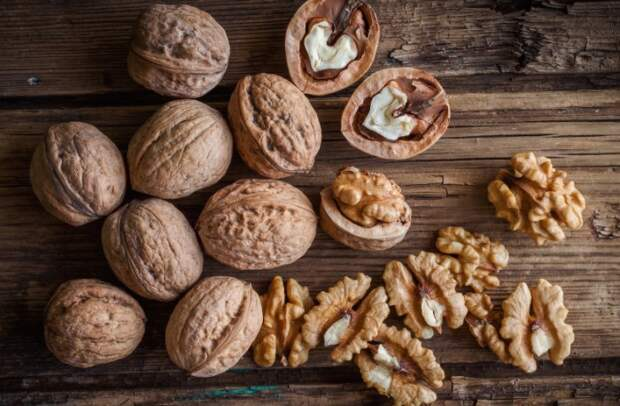 Недосушенные орехи быстрее портятся и покрываются плесенью / Фото: orehovod.com