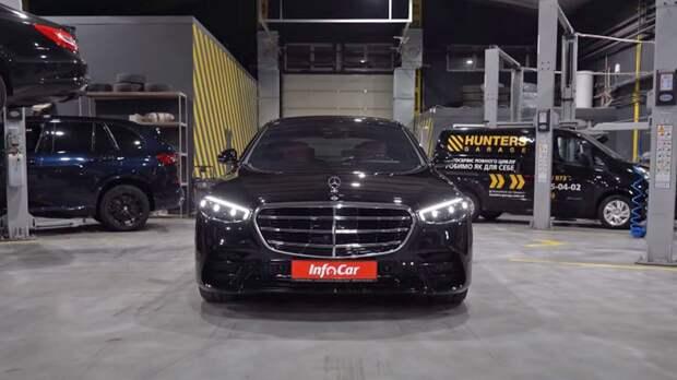 Гибрид S580e появился в линейке немецкого Mercedes