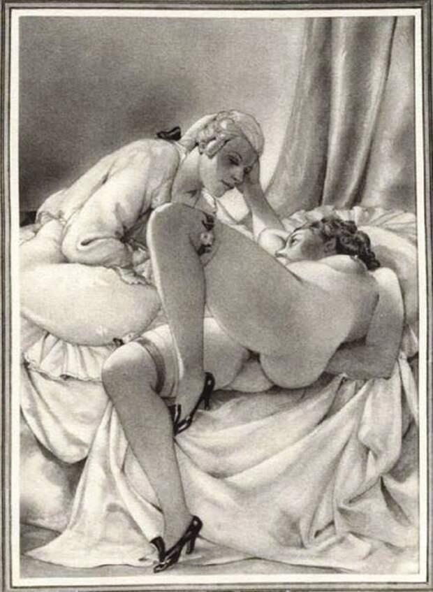 Эротика кисти мастера неэротических иллюстраций 18+
