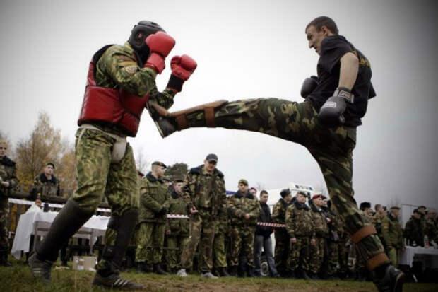 Жестокие тренировки элиты русского спецназа