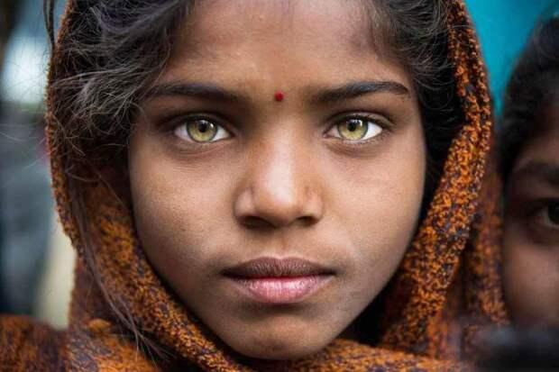 Молодая индуска