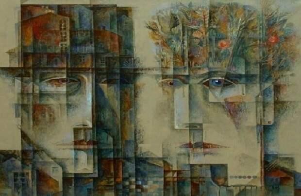 Чем покоряют зрителей многослойные картины современного московского авангардиста