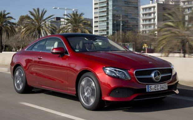 Купе Mercedes-Benz E-класса названо лучшим авто года для геев
