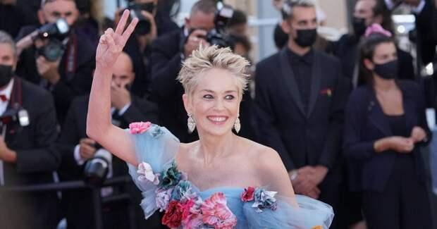 Шэрон Стоун посетила премьеру фильма в Каннах