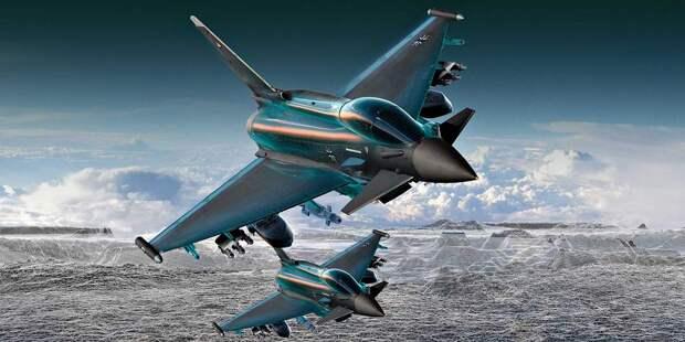 Eurofighter вВВС ФРГ иАнглии должен дослужить минимум досередины тридцатых годов XXI века