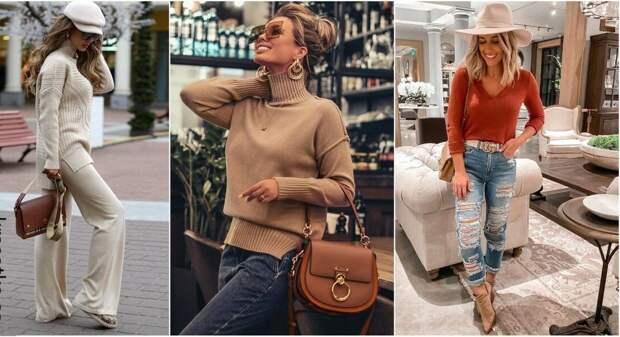 Модная трикотажная одежда осени 2020: самые актуальные варианты