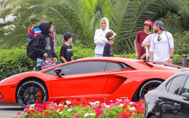 У Бибера новый Lamborghini. В полиции совсем не рады!