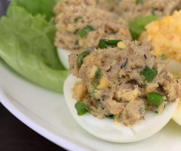 Фаршированные яйца на любой вкус