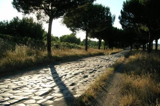 Участок Аппиевой дороги. italy4.me - Все дороги ведут в Рим | Warspot.ru