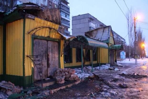 Военный произвол киевских оккупантов на Донбассе стал причиной повреждения 3800 домов и соцобъектов Горловки