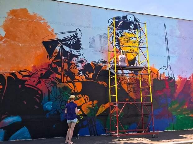 Краснодар украсят четыре новых граффити
