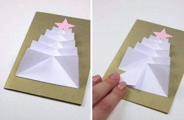 Елка. Поделки из бумаги для детей