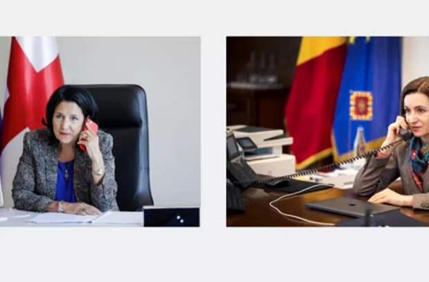 О чем говорили президенты Молдовы и Грузии