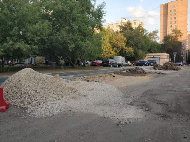 Октябрьский переулок реконструируют до конца августа