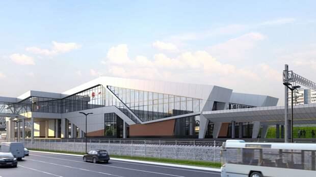 Пассажирский павильон будет трехэтажным/stroi.mos.ru