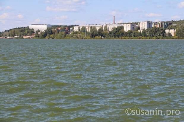 Вода ижевского пруда оказалась с отклонениями
