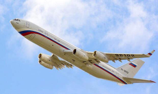 Колумбия подняла истребители наперехват российского Ил-96 (+ВИДЕО)