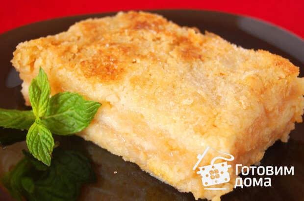 Насыпной яблочный пирог фото к рецепту 6