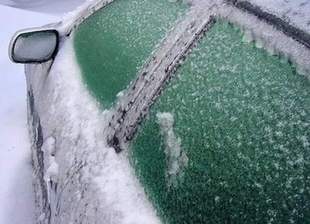 Для того, чтобы окна машины не замерзали