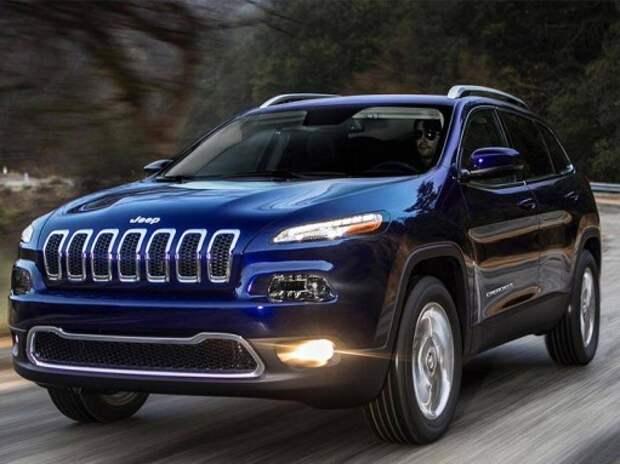 Возгорание последней модели Jeep Cherokee расследуют в США