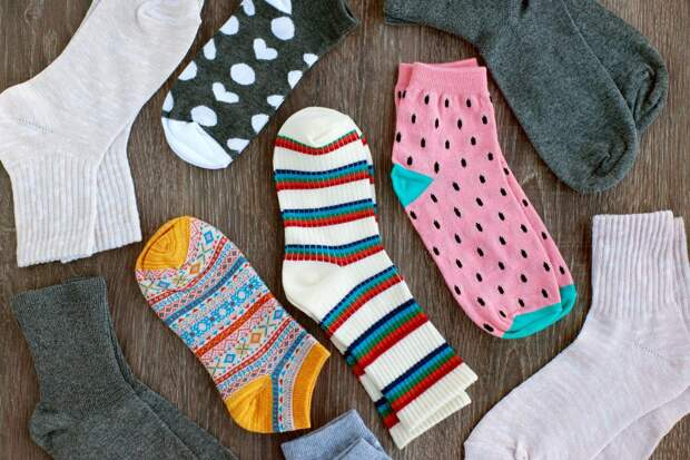 Приметы на носки.