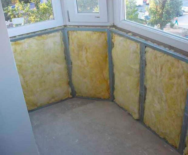 Чем лучше утеплить балкон или лоджию изнутри?