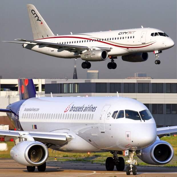 Меньше недели осталось до вывода SSJ100 из флота Brussels Airlines