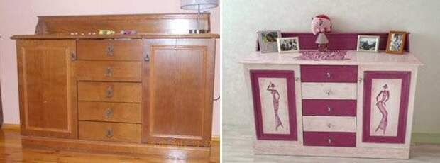 Реставрация старой советской мебели