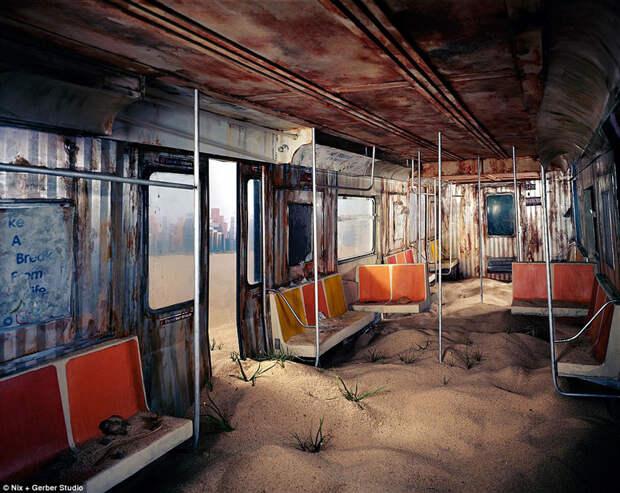 Как выглядит конец света: художница делает реалистичные доужаса миниатюры возможного постапокалипсиса
