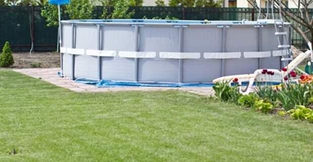 Как организовать бассейн на участке и куда сливать воду из него?