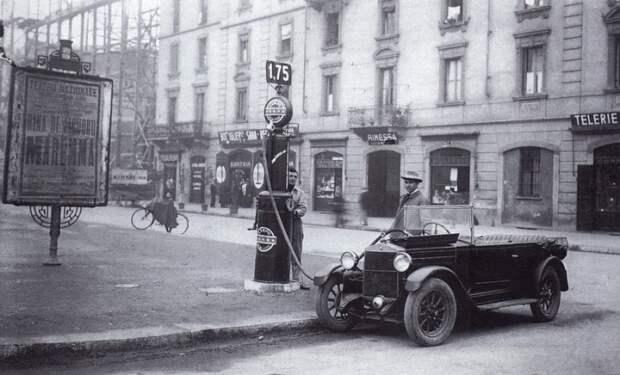В начале прошлого века бензин был совсем не такой. |Фото: diletant.media.