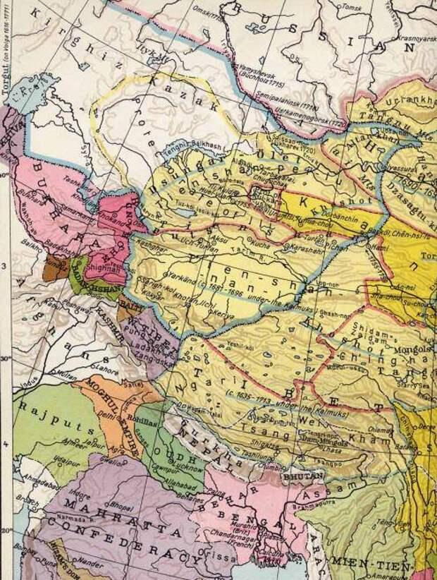Нота протеста. Китай претендует на территории Казахстана
